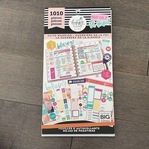 HAPPY PLANNER Faith Warrior Sticker Book